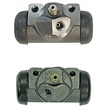 Wheel Cylinder - Direct Fit, Set of 2 Rear, Driver and Passenger Side