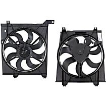 Radiator Fan Assembly - Driver and Passenger Side