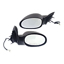 Power Mirror, Driver and Passenger Side, Wagon, Non-Folding, Non-Heated, Paintable
