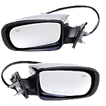 Mirror - Driver and Passenger Side (Pair), Power, Heated, Chrome and Memory