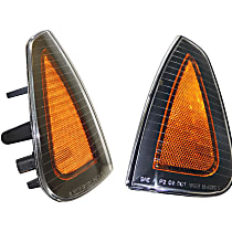 Crown Side Marker Lens - SET-CR4806218AD - Driver and Passenger Side, Direct Fit, Set of 2