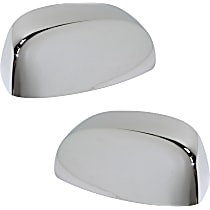 Mirror Cover - Driver and Passenger Side, Chrome, Direct Fit, Set of 2
