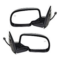 Mirror - Driver and Passenger Side (Pair), Power, Heated, Folding, Paintable With Puddle Lamp
