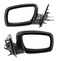 Mirror - Driver and Passenger Side (Pair), Power, Heated, Power Folding, Paintable, Type 2