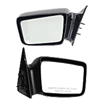 Mirror - Driver and Passenger Side (Pair), Paintable, 5 x 7 in. Housing