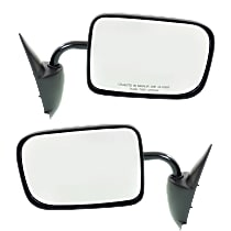 Mirror - Driver and Passenger Side (Pair), Textured Black, Old Body Style