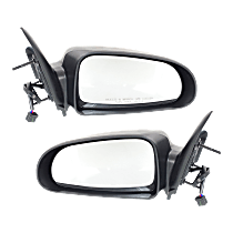 Power Mirror, Driver and Passenger Side, Non-Folding, Non-Heated, w/o Memory, Paintable