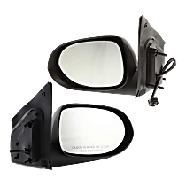 Mirror - Driver and Passenger Side (Pair), Power, Textured Black