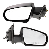 Power Mirror, Driver and Passenger Side, Non-Folding, Heated, Paintable