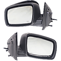 Mirror - Driver and Passenger Side (Pair), Power, Heated, Folding, Paintable, Models With One Touch