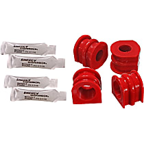 SET-E1275126R Sway Bar Bushing - Red, Direct Fit, Set of 2