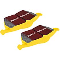 Front And Rear Brake Pad Set