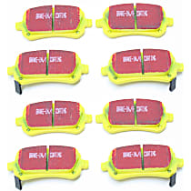 Front And Rear Brake Pad Set