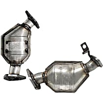 SET-EAST50456 Catalytic Converter - 47-State Legal (Cannot ship to CA, NY or ME) - Front, Driver and Passenger Side