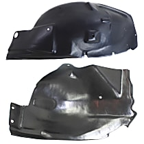 Fender Liner - Front, Passenger Side, Front and Rear Section GT Model