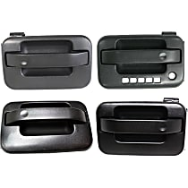 Front and Rear, Driver and Passenger Side Exterior Door Handle