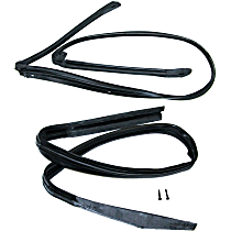 SET-FAIF1019 Tailgate and Liftgate Weatherstrip Seal - Set of 2