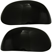 StyleLine Mirror Cover - SET-FD01R-C - Driver and Passenger Side, Paint to Match, Plastic, Direct Fit, Set of 2