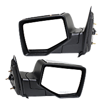 Mirror - Driver and Passenger Side (Pair), Chrome