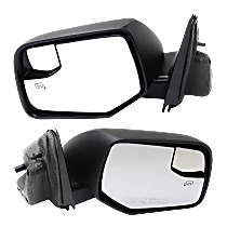 Mirror - Driver and Passenger Side (Pair), Power, Heated, Paintable, With Blind Spot Function