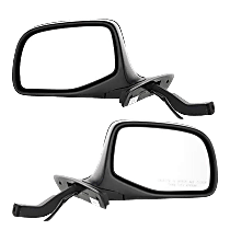 Mirror - Driver and Passenger Side (Pair), Power, Paintable, For Models With Performance Package