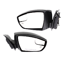 Mirror - Driver and Passenger Side (Pair), Power, Heated, Paintable, With Turn Signal and Blind Spot Glass