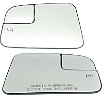 Driver and Passenger Side Heated Mirror Glass