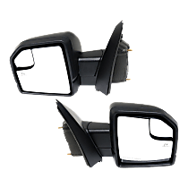 Mirror - Driver and Passenger Side (Pair), Power, Heated, Power Folding, Paintable, Turn Signal, Memory, Blind Spot Glass, Spot Light