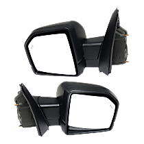 Mirror - Driver and Passenger Side Pair, Power, Heated, Power Folding, Turn Signal, Memory, Spot Light, Models With Side View Camera