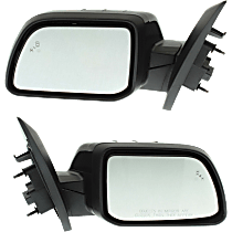 Mirror - Driver and Passenger Side (Pair), Power, Heated, Folding, Paintable, With Memory, Blind Spot Function, and Puddle Lamp