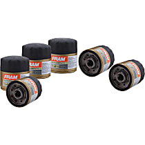 Oil Filter - Canister, Direct Fit, Set of 6