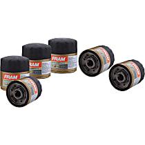 Fram SET-FFXG3614-6 Oil Filter - Canister, Direct Fit, Set of 6