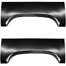 SET-FIT1581147L Wheel Arch Repair Panel - Driver and Passenger Side, Upper, Direct Fit, Set of 2