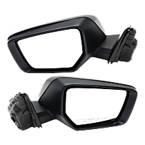 Mirror - Driver and Passenger Side (Pair), Power, Heated, Folding, Paintable, With Turn Signal and Puddle Lamp
