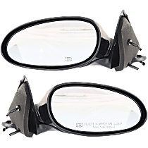Mirror - Driver and Passenger Side (Pair), Power, Heated, Paintable