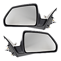 Mirror - Driver and Passenger Side (Pair), Power, Heated, Paintable, With Memory