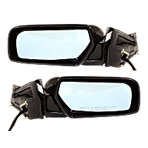 Mirror - Driver and Passenger Side (Pair), Power, Heated, Power Folding, Paintable