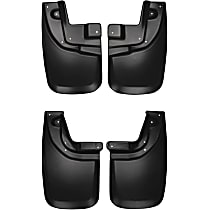 SET-H2156931 Front and Rear, Driver and Passenger Side Mud Flaps, Set of 2