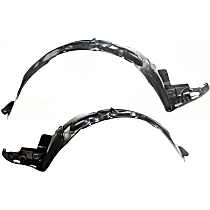 Fender Liner - Front, Driver and Passenger Side, Sedan, USA/Mexico Built Vehicle