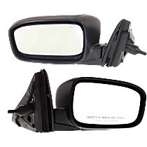 Mirror - Driver and Passenger Side (Pair), Folding, Paintable, For US Built Sedan