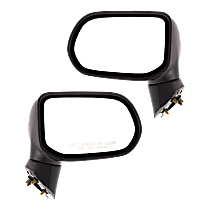 Mirror - Driver and Passenger Side (Pair), Folding, Textured Black, Us Or Japan Built Sedans