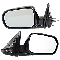 Mirror - Driver and Passenger Side (Pair), Power, Folding, Paintable, For US Built Sedan