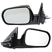 Kool Vue Power Mirror, Passenger Side, USA Built, Sedan, Manual Folding, Paintable