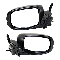 Mirrors - Driver and Passenger Side, Pair, Power, Paintable, For Front Wheel Drive Models