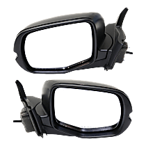 Mirror - Driver and Passenger Side (Pair), Power, Heated, Paintable, For All Wheel Drive