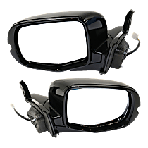 Mirrors - Driver and Passenger Side, Pair, Power, Paintable