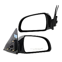 Kool Vue Power Mirror, Driver and Passenger Side, Non-Folding, Heated, Paintable