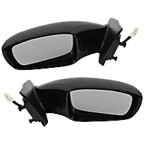 Kool Vue Power Mirror, Driver and Passenger Side, 2.0T Limited/2.0T/GL/GLS/Limited/SE Models, Manual Folding, Heated, w/ Signal, Paintable