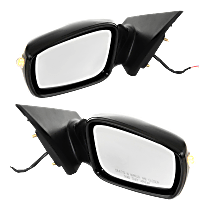 Power Mirror, Driver and Passenger Side, 2.0T Limited/2.0T/GL/GLS/Limited/SE Models, Manual Folding, Non-Heated, w/ Signal, Paintable
