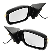 Kool Vue Power Mirror, Driver and Passenger Side, 2.0T Limited/2.0T/GL/GLS/Limited/SE Models, Manual Folding, Non-Heated, w/ Signal, Paintable